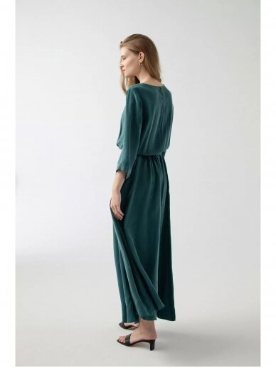 ROBI AGNES suknelė LILI emerald green 2
