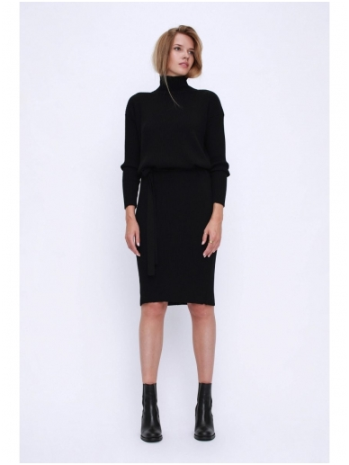 ROBI AGNES megzta suknelė LUNA turtleneck 9