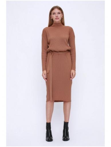 ROBI AGNES megzta suknelė LUNA turtleneck 15