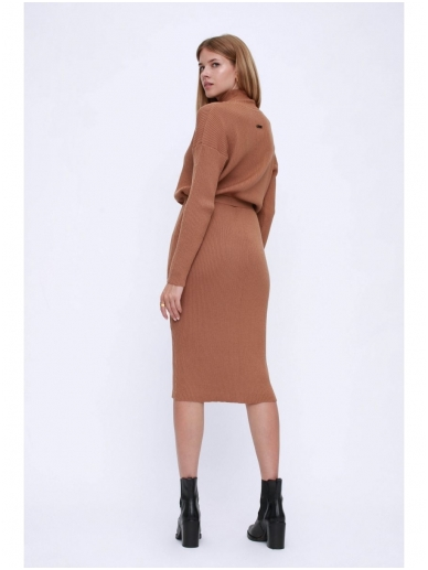 ROBI AGNES megzta suknelė LUNA turtleneck 12