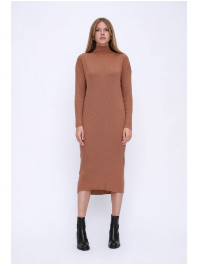 ROBI AGNES megzta suknelė LUNA turtleneck 14