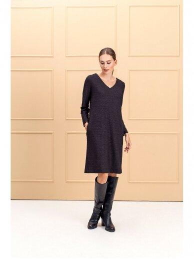 Saviti PRAHA juoda suknelė