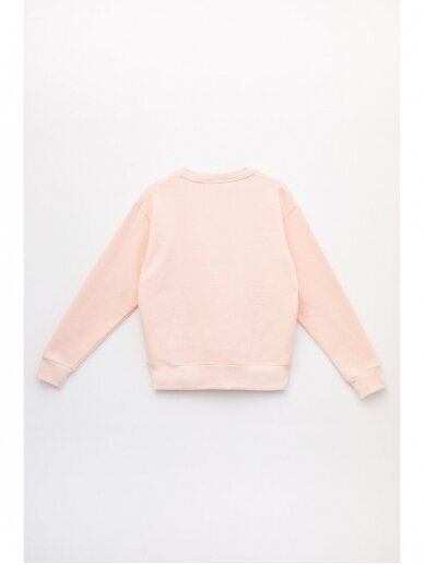 SILE rožinis medvilnės džemperis TIGER KATO 7