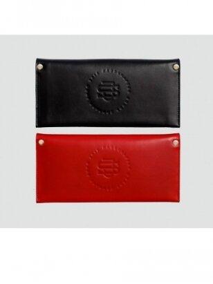 SJGOODS moteriška  raudona piniginė