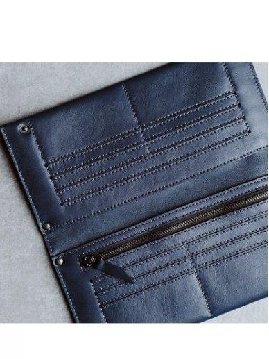 SJGOODS moteriška tamsiai  mėlyna piniginė