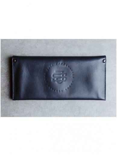 SJGOODS moteriška tamsiai  mėlyna piniginė 2