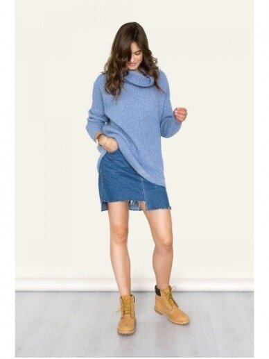 ROBI AGNES šiltas megztinis  aukštu kaklu SOFIE 7