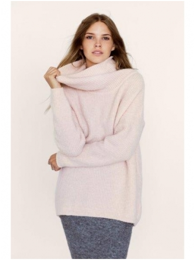 ROBI AGNES šiltas megztinis  aukštu kaklu SOFIE 15