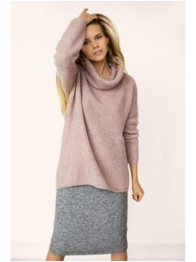 ROBI AGNES šiltas megztinis  aukštu kaklu SOFIE 13