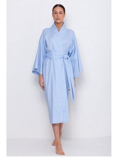 Simply Unique organinės medvilnės kimono tipo chalatas 3