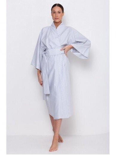 Simply Unique organinės medvilnės kimono tipo chalatas 4