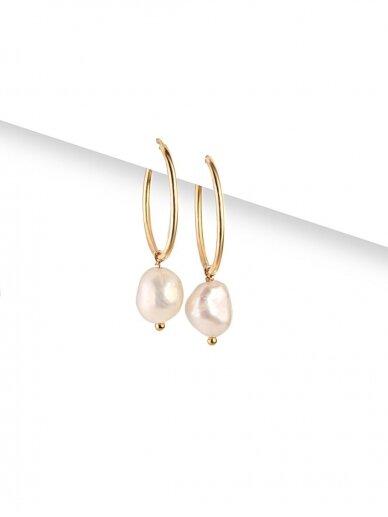 vdlgaksesuarai auskarai su perlais