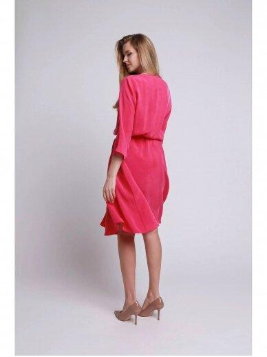 ROBI AGNES suknelė VIKI ryškiai rožinė 4